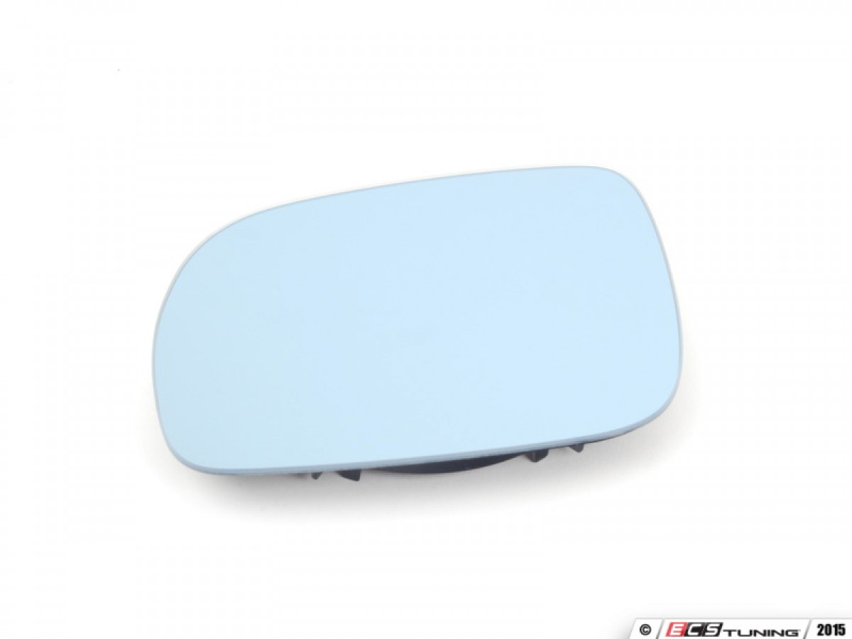 Blue Tinted Heated Mirror - Right