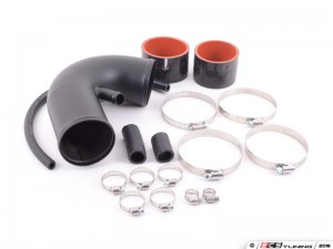Mk3 VR6 Upper Intake Tube - Wrinkle Black