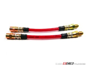 Exact-Fit Stainless Steel Brake Lines