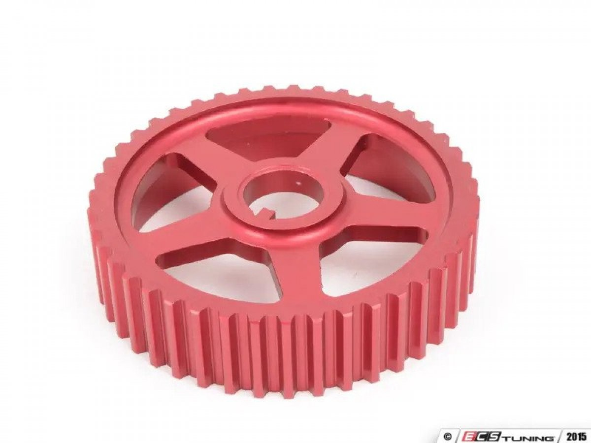 Lightweight Intermediate Shaft Pulley - Red Anodized