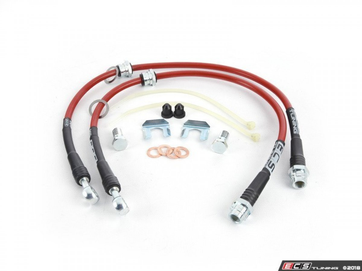 Stainless Steel Brake Lines - Front